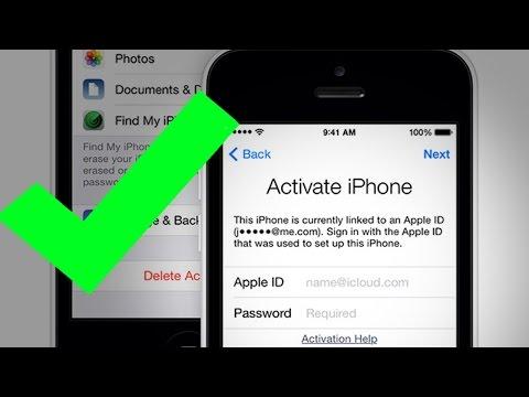 Снимаем блокировку активации Apple id бесплатно 2 серия