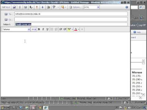 monitoring All User Mail boxes in Exchange Server 2007 part 12