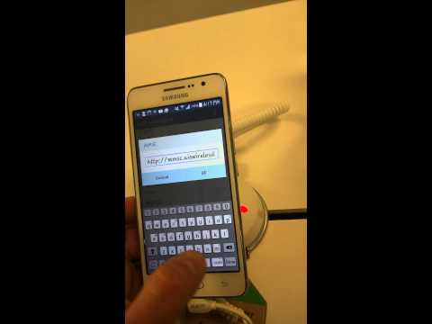 Cricket wireless APN settings