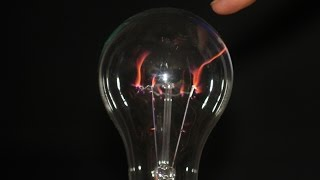 Download DIY plasma ball from incandescent lamp Video
