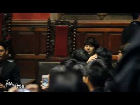 131110 SJ at Oxford University -  Kyuhyun focus