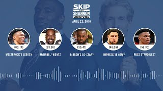 UNDISPUTED Audio Podcast (4.22.19) with Skip Bayless, Shannon Sharpe & Jenny Taft | UNDISPUTED