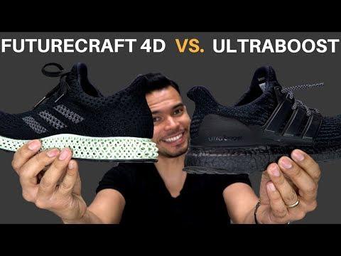 Adidas Ultraboost vs  Adidas FutureCraft 4D   Adidas Made A Better Shoe Than The Ultraboost?