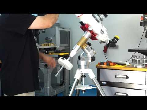 shop made simple telescope mount