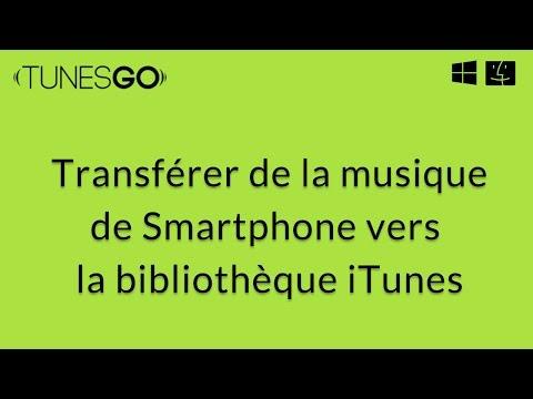 Wondershare TunesGo: Transfert de la musique de la téléphone vers PC