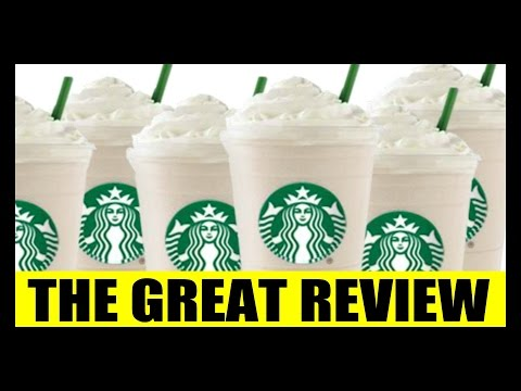 STARBUCKS - WHITE CHOCOLATE MOCHA LATTE - THE GREAT REVIEW