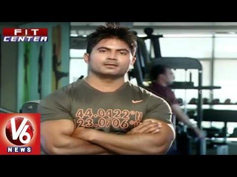 Fit Center    Trainer Venkat Fitness Tips To Build Six Pack    V6 News