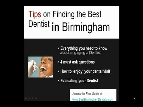 How to Find the Best Dentist in Birmingham, AL
