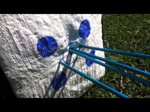 How To Make A Archery Target For $8
