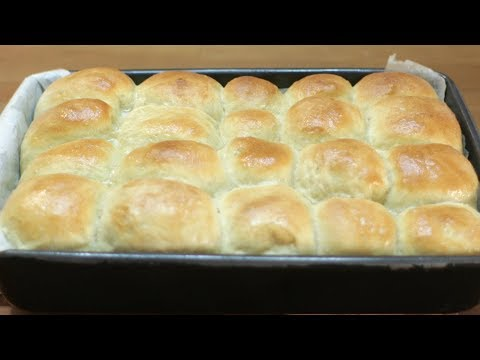 How to make Dinner Rolls - Easy No Knead No Mixer Dinner Rolls Recipe