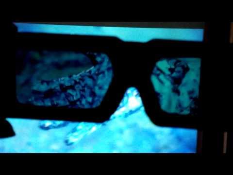 3D Projector Test - Pacific Rim