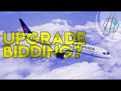 Air Canada Upgrade Bidding Explained