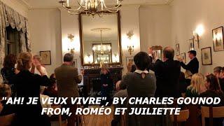 """Ah! Je veux vivre"", Gounod, Sung By Christina Smith Soprano"