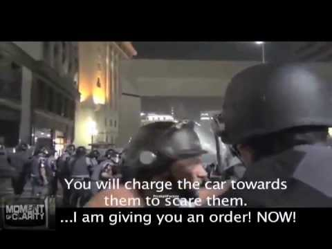 Police Officer Refuses Orders, Sides With Protesters (via @LeeCamp)