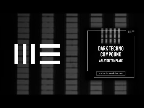 Berlin Dark Techno Track - Ableton Template using Sylenth1