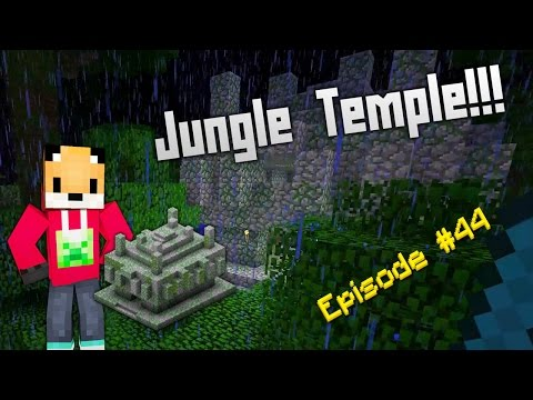 Minecraft Survival - How to find a Jungle Temple [44]