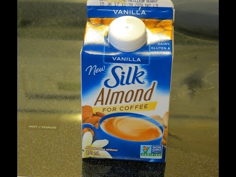 Silk Almond Milk Non-Dairy Creamer--vanilla flavor! Product review! (gluten-free, soy-free)