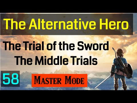 Master Mode Breath of the Wild - The Trial of the Sword - The Middle Trials - 058
