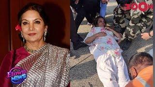 Shabana Azmi's condition gets BETTER but still under observation   Bollywood News