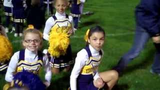 WGAC Pep Rally JRPW Cheerleader Spirit