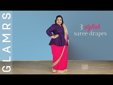 3 Modern Ways To Wear a Saree this Festive Season | Styling Tips by Glamrs