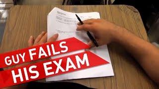 Failing a Test