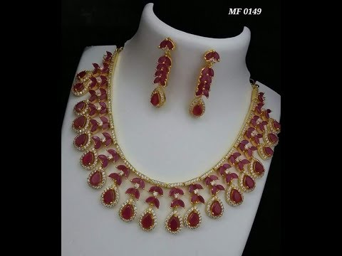 Latest Indian Ruby jewelry Designs with price   buy online    lifestyle