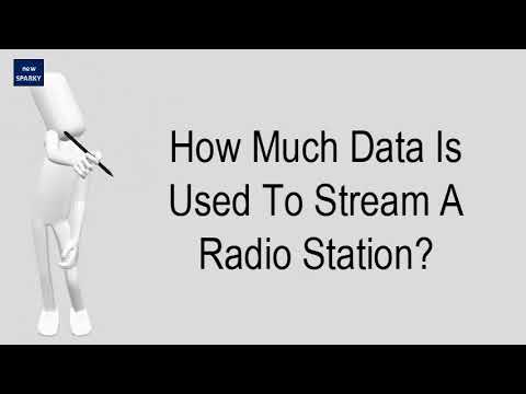 How Much Data Is Used To Stream A Radio Station?