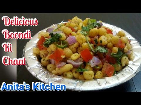 Delicious Boondi Ki Chaat Recipe - snack recipe - Boondi ki chaat