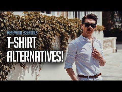 Men's T-Shirt Alternatives | Men's Summer Style 2018