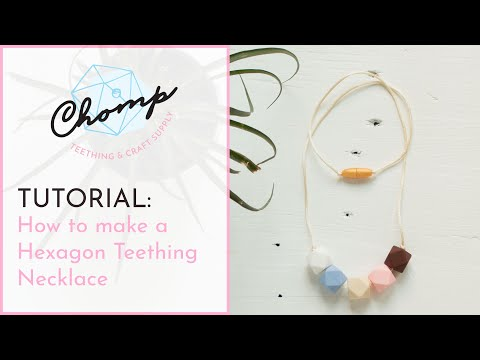 How to Make a Teething Necklace