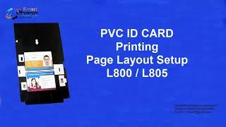 EPSON L805 ID CARD PRINTING | FULL TUTORIAL | IN HINDI