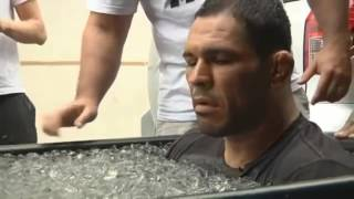 Download UFC MMA figthers taking ICE BATHS! Funny Reactions Video