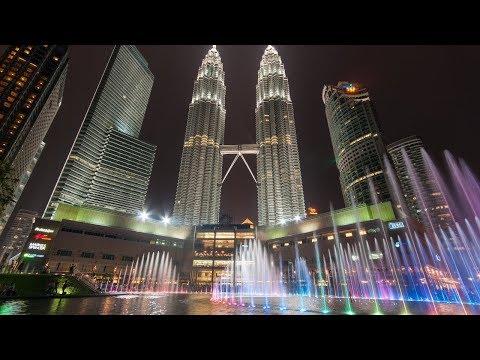Malaysia Tour 2017   KLCC Fountain Show