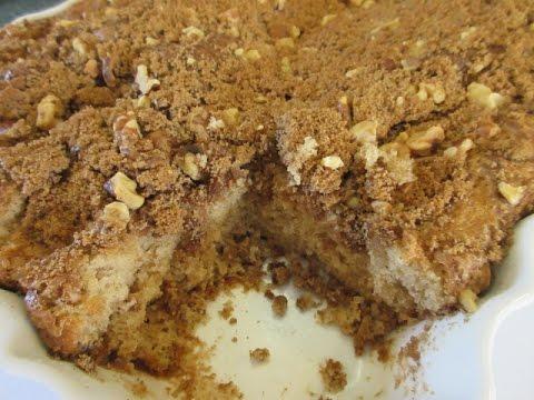 COFFEE CAKE - How to make Basic COFFEE CAKE Recipe