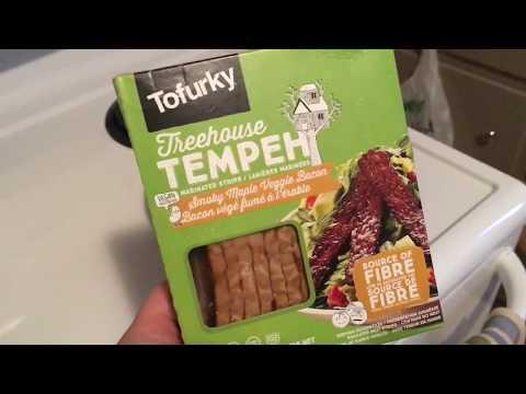 Tofurky Treehouse Tempeh • Smoky Apple Veggie Bacon *Review* 🇨🇦