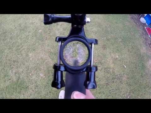 GoPro 5 Black Airrifle test