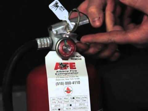 Monthly Fire Extinguisher Inspection. http://www.albanyfire.net