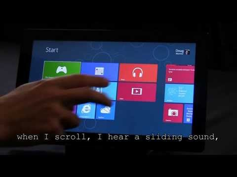 How to use Narrator in Windows 8