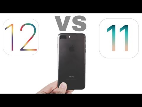 iOS 12 final vs iOS 11.4.1  Speed test | Boot time | iPhone 7 Pus | iSuperTech
