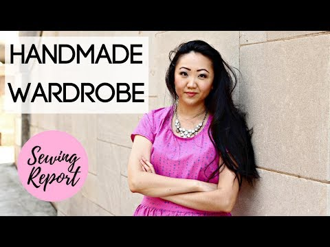 MAKING MY OWN CLOTHES | Handmade Wardrobe Project | NO CLOTHES SHOPPING | LIVE SHOW | SEWING REPORT