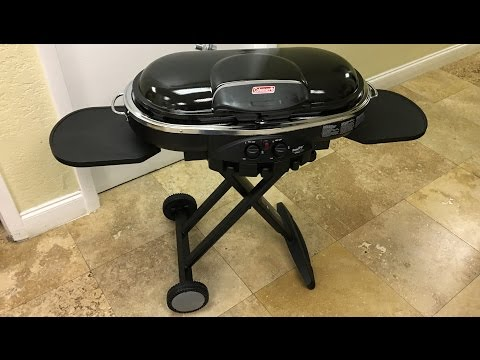 Coleman Road Trip Propane Portable Grill LXE Unboxing Review