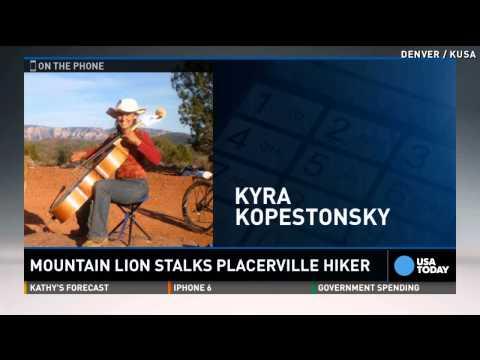 Hiker sings opera to scare mountain lion