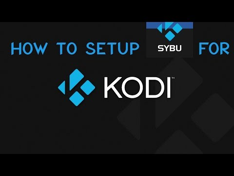 How to connect Sybu for Kodi