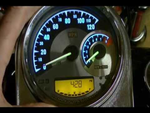 Harley Davidson Speedometer Tachometer Color Combinations #70900070A - Over 130 Billion Combinations