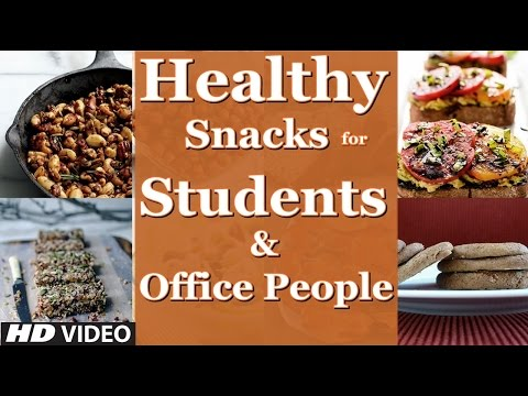 Top 3 Healthy Snacks for Students & Office People | (Guru Mann's top 3 choices)