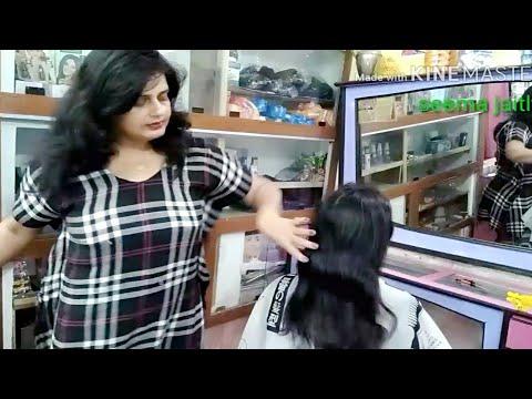 Emo cut for light hair💇 Hair cut  for very thin hair Seema jaitly