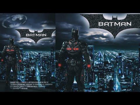 Photoshop manipulation (Tutorial) : Batman movie poster | Photoshop cc 2014