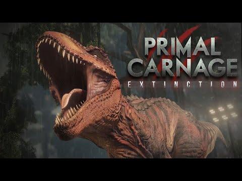 Primal Carnage: Extinction T-Rex Free Roam