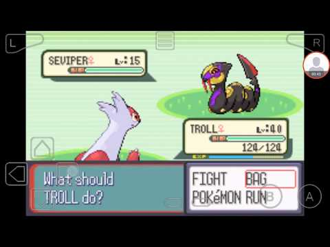 Pokemon Sapphire - Catching Seviper